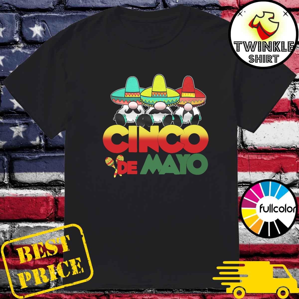 Gnomes Cinco De Mayo Shirt