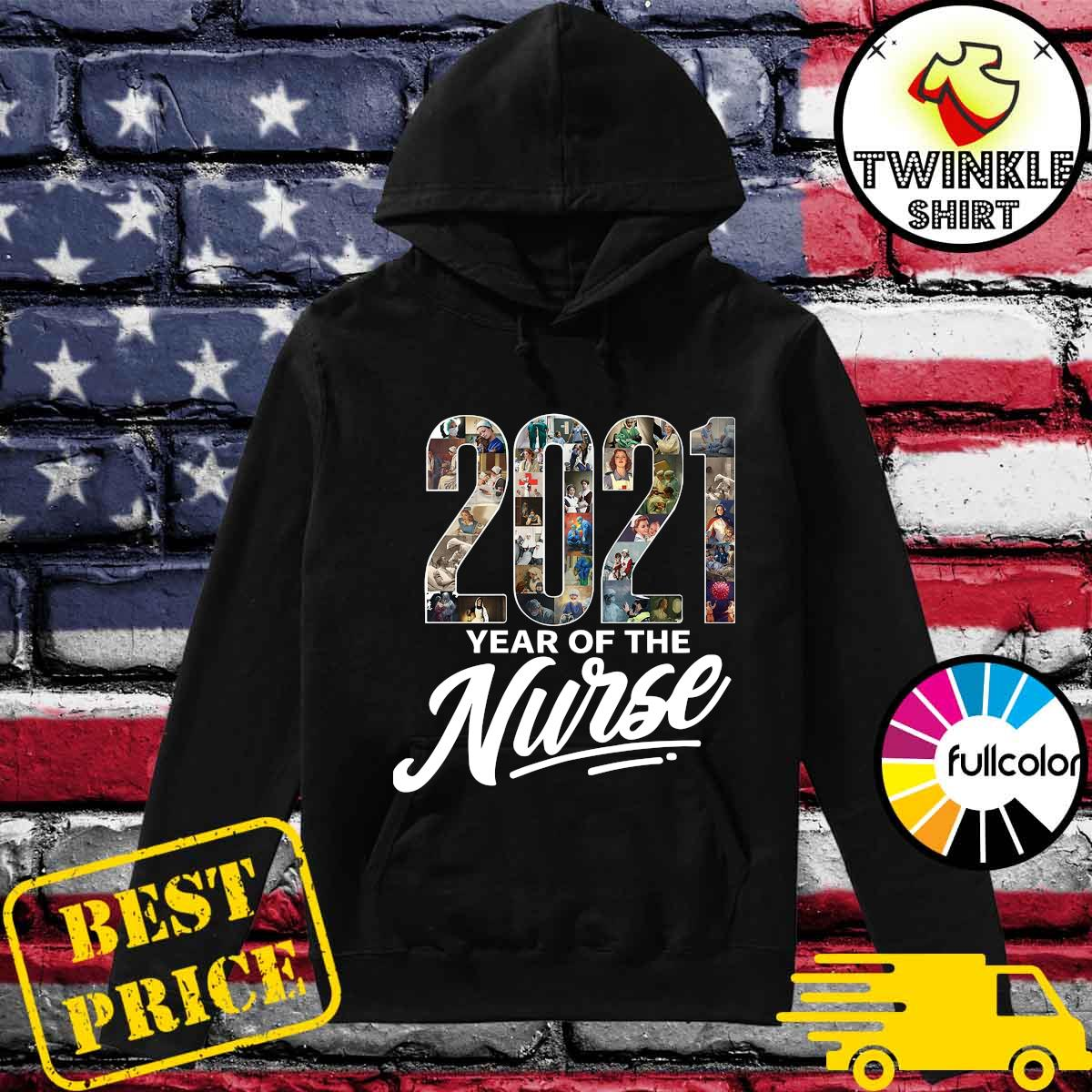 2021 Years Of The Nurse Shirt Hoodie