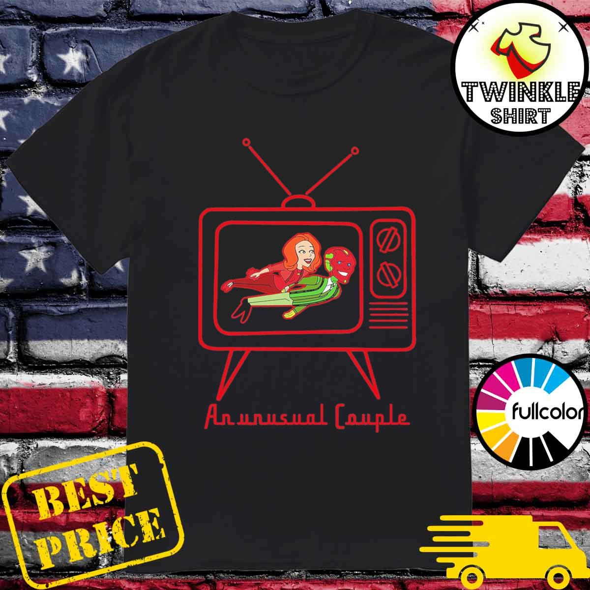 Marvel Vision Wandavision An Unusual Couple Shirt