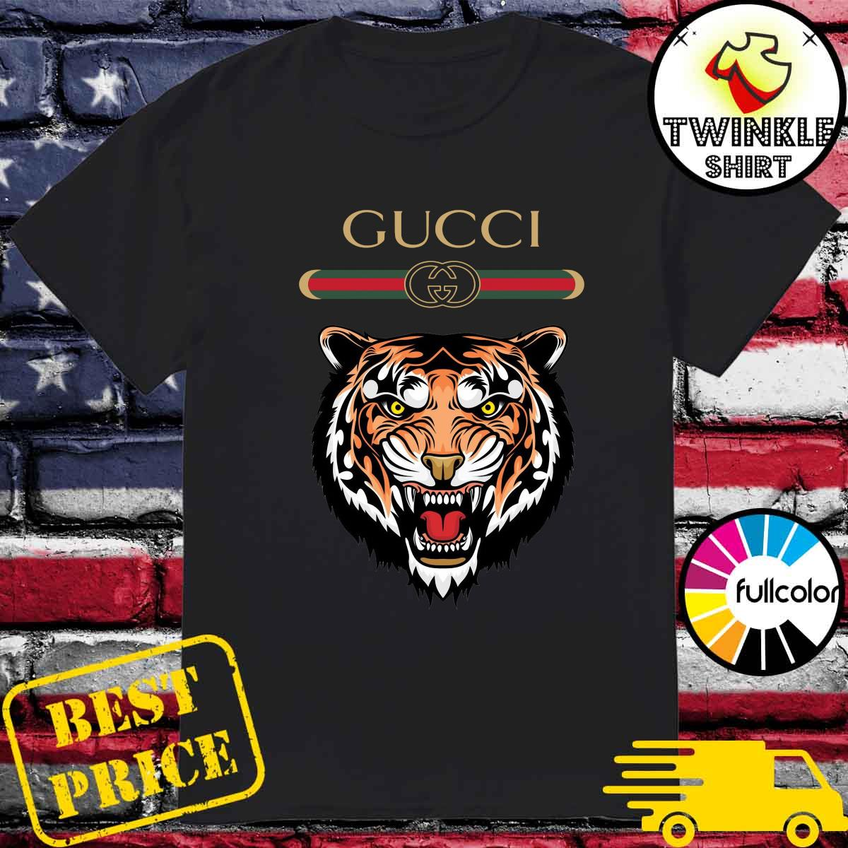 Official Gucci Versace Tiger 12 Shirt, hoodie, sweater, long ...