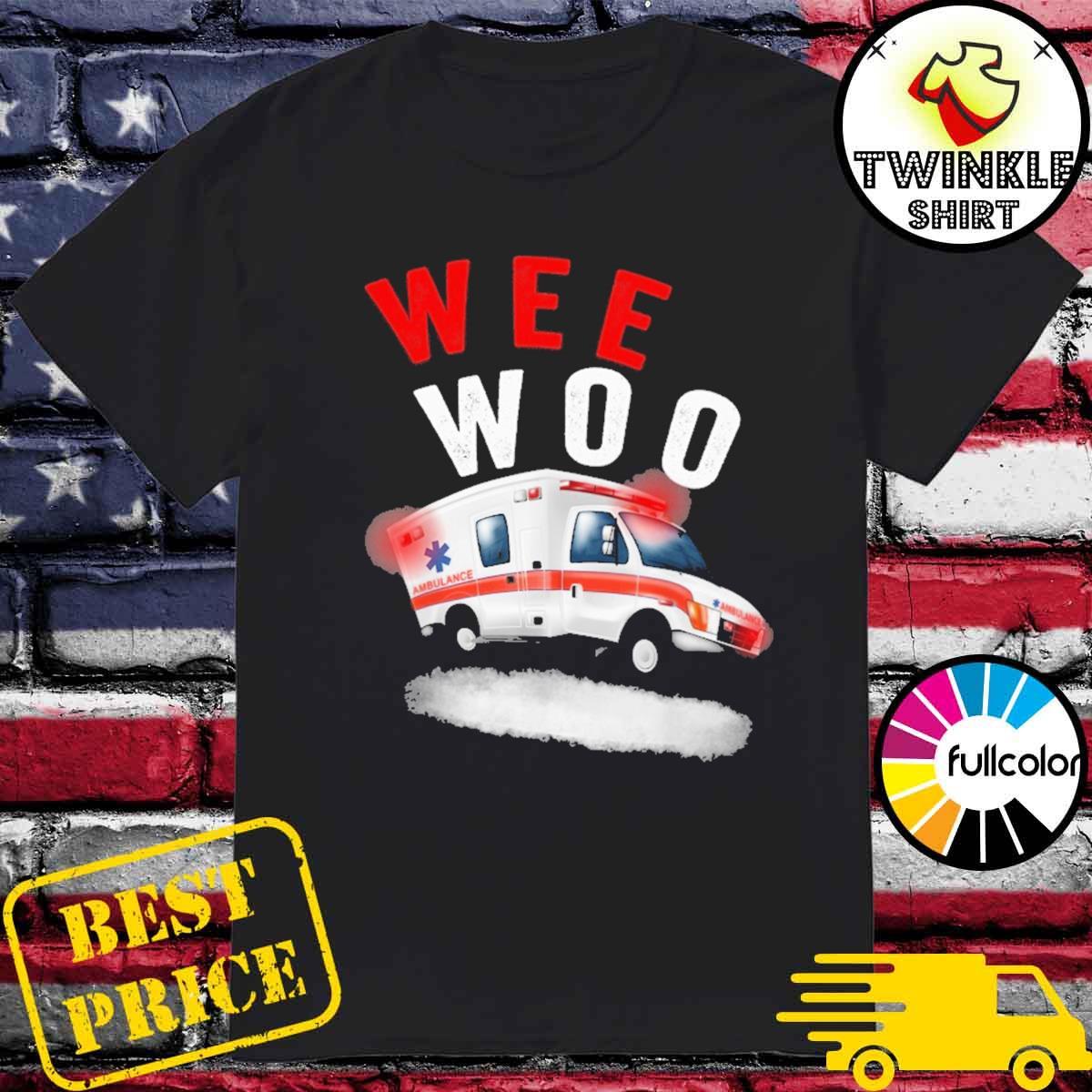 Official Boo Boo Bus Wee Woo Ambulance AMR Shirt