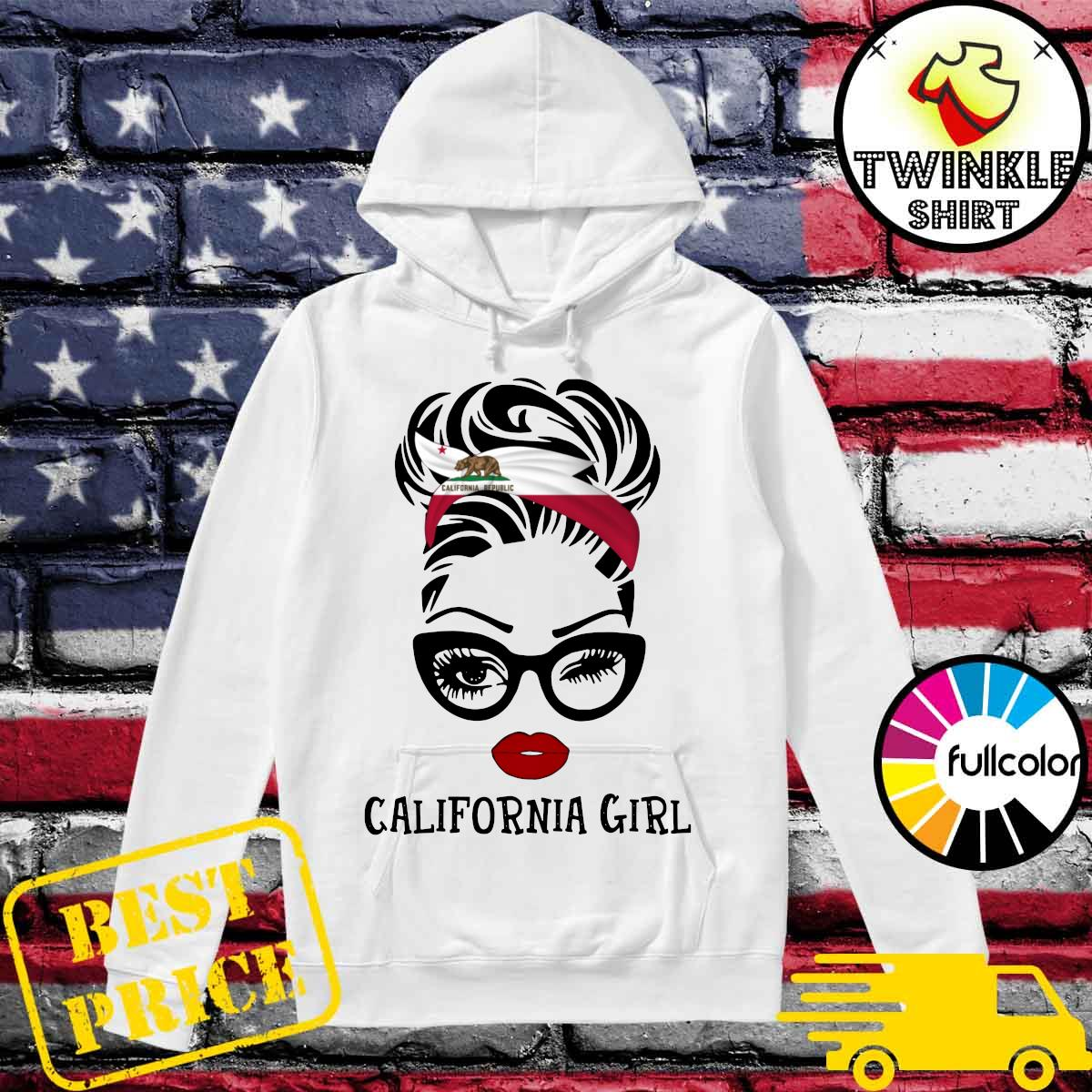 Official California Girl Shirt Hoodie