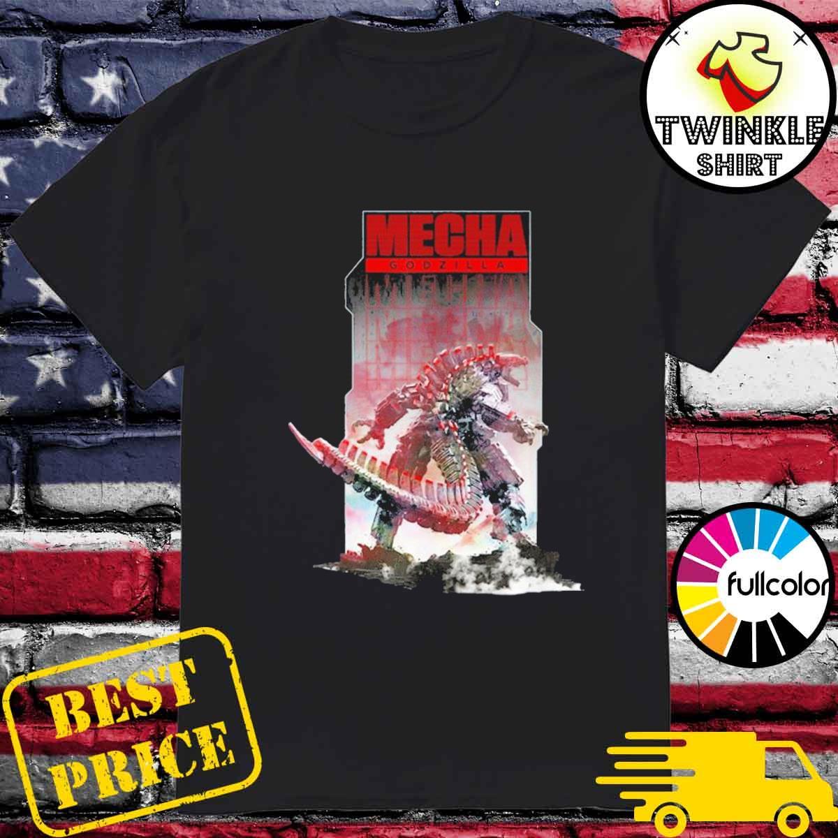 Official Godzilla vs kong – mechagodzilla shirt