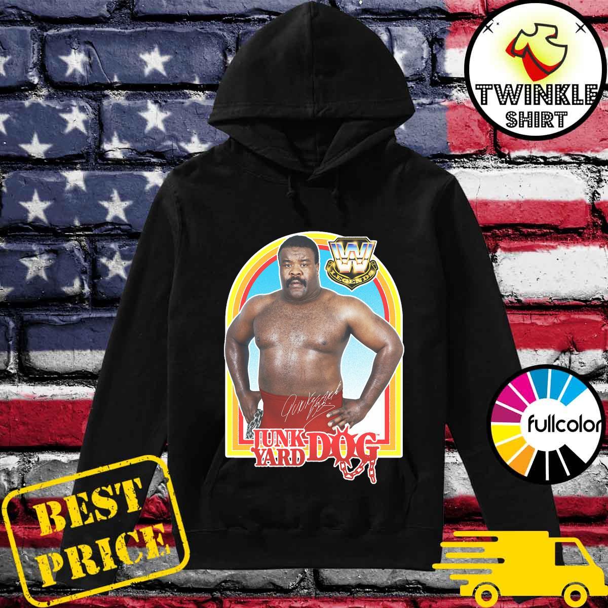 Official Junkyard Dog WWE Legend Signature Shirt Hoodie
