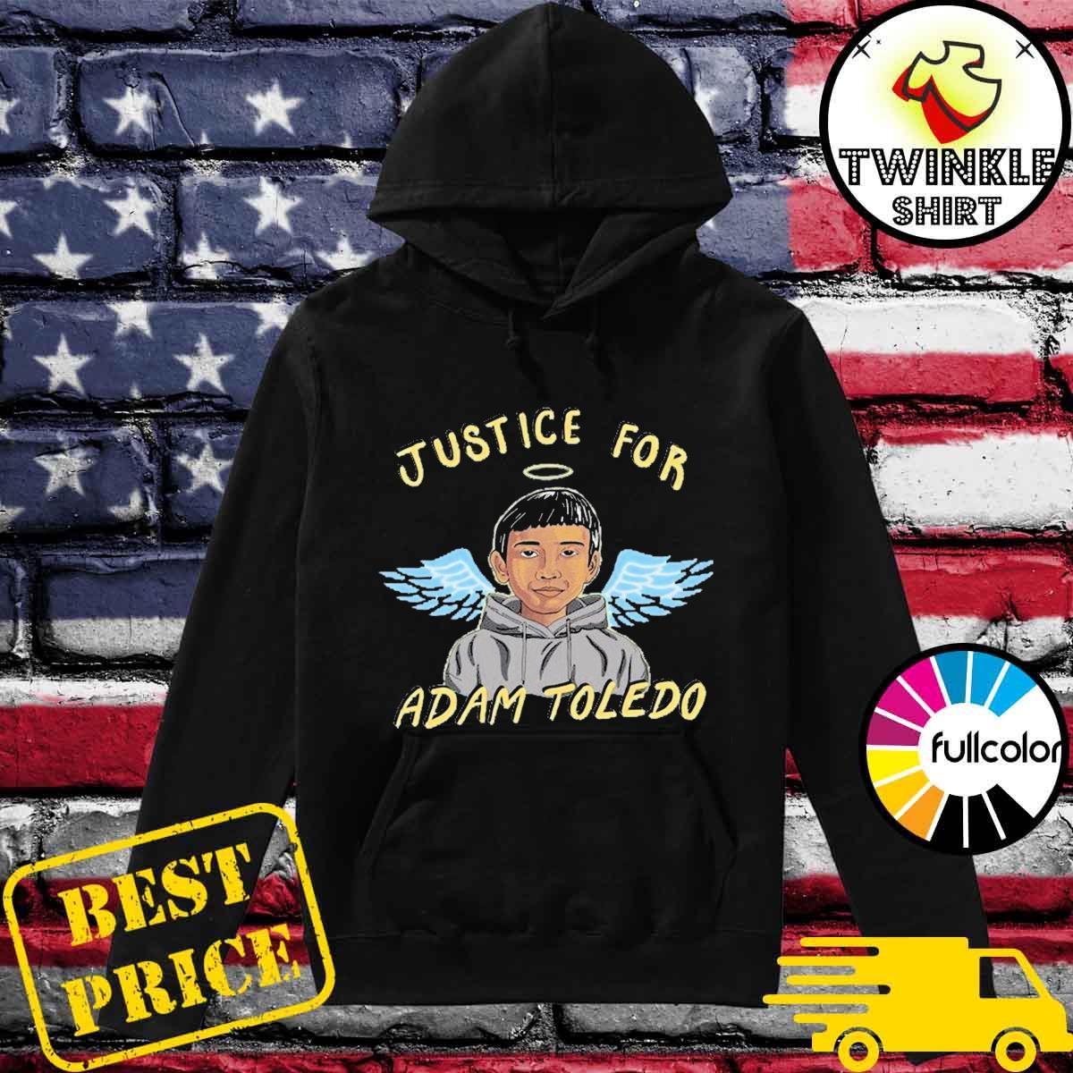 Official Justice for Adam Toledo -Stop Killing US, RIP Adam Toledo Hoodie
