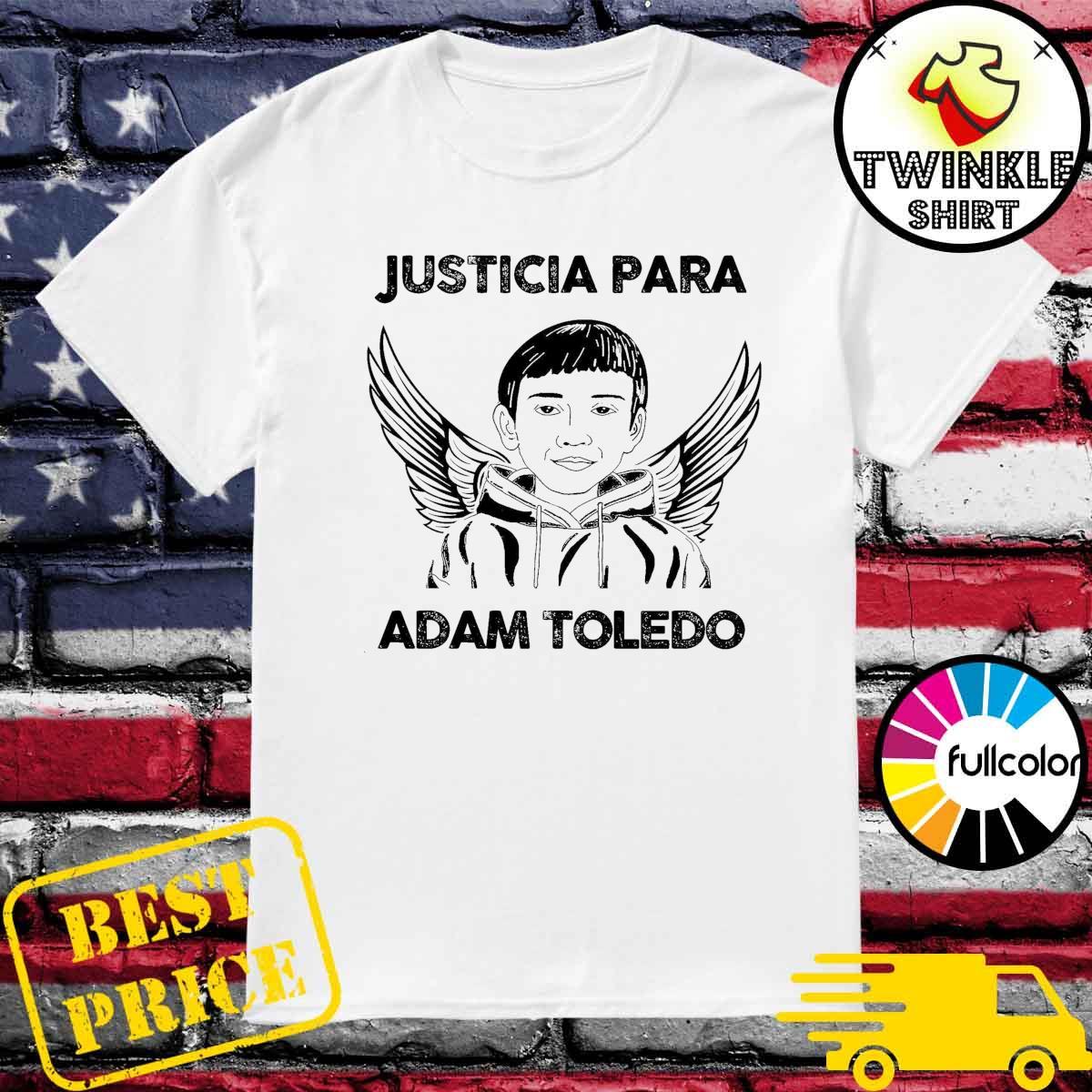 Official Justicia Para Adam Toledo Shirt