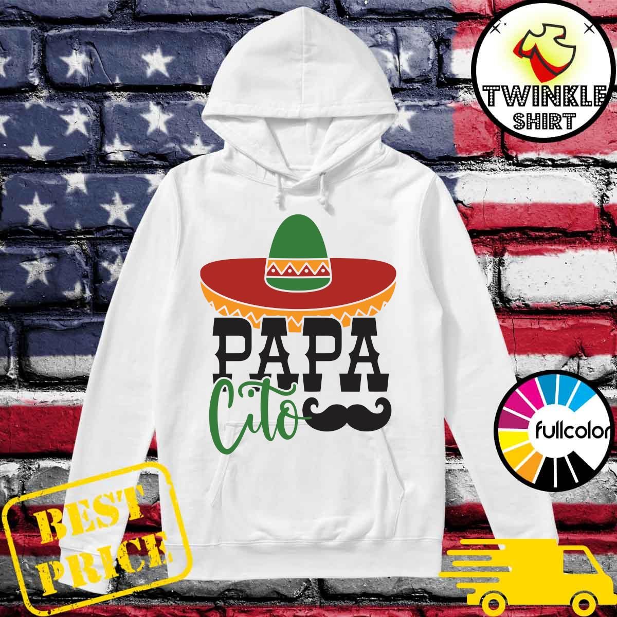 Official Papa Cito Shirt Hoodie