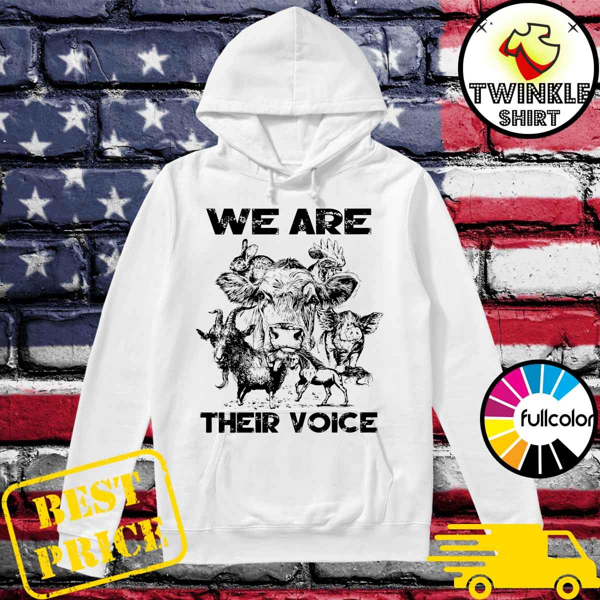 Official We Are Their Voice Animal Shirt Hoodie