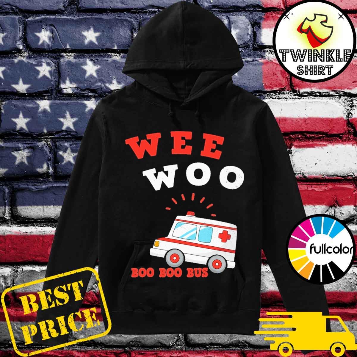 Official Wee Woo Boo Boo Bus 2021 Shirt Hoodie