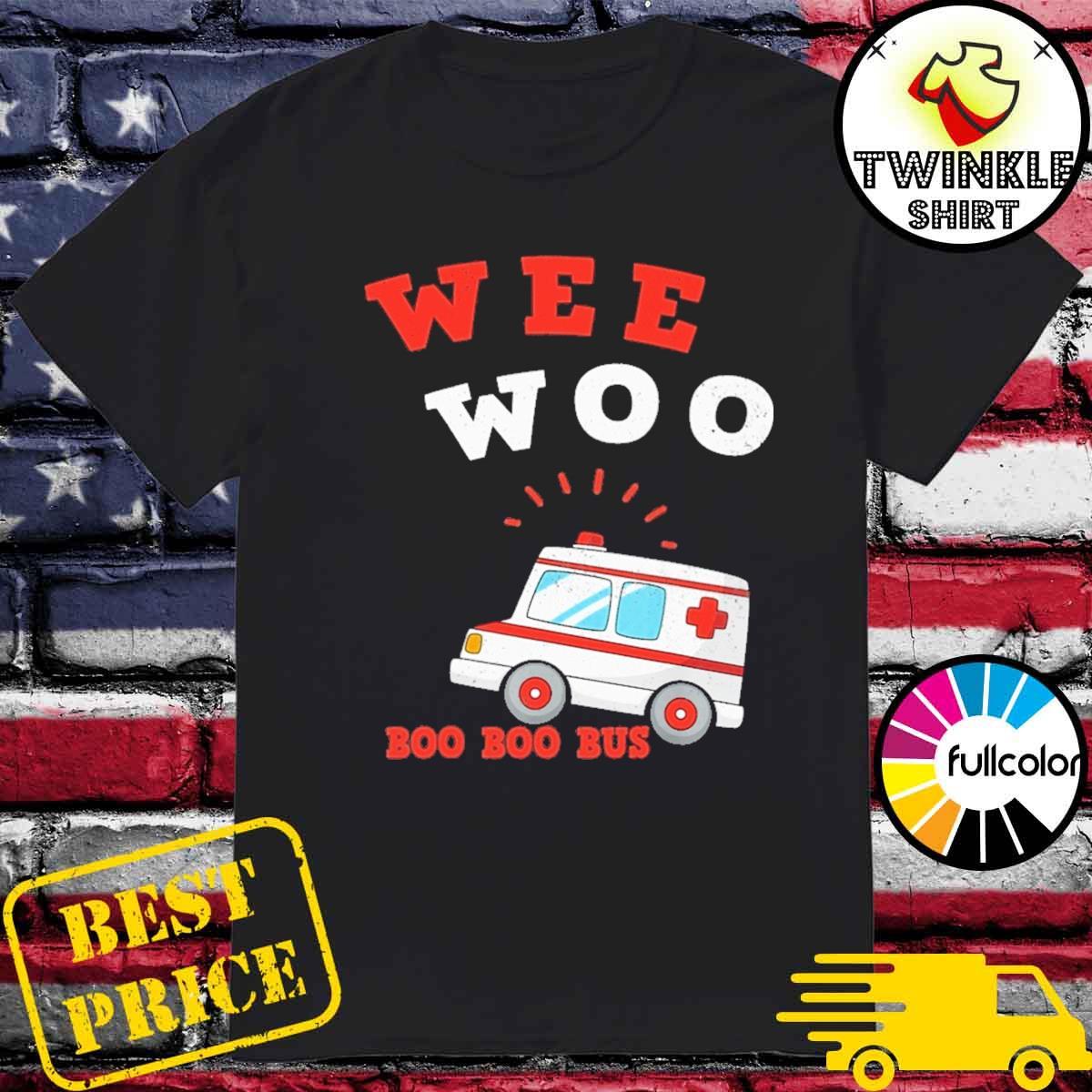 Official Wee Woo Boo Boo Bus 2021 Shirt