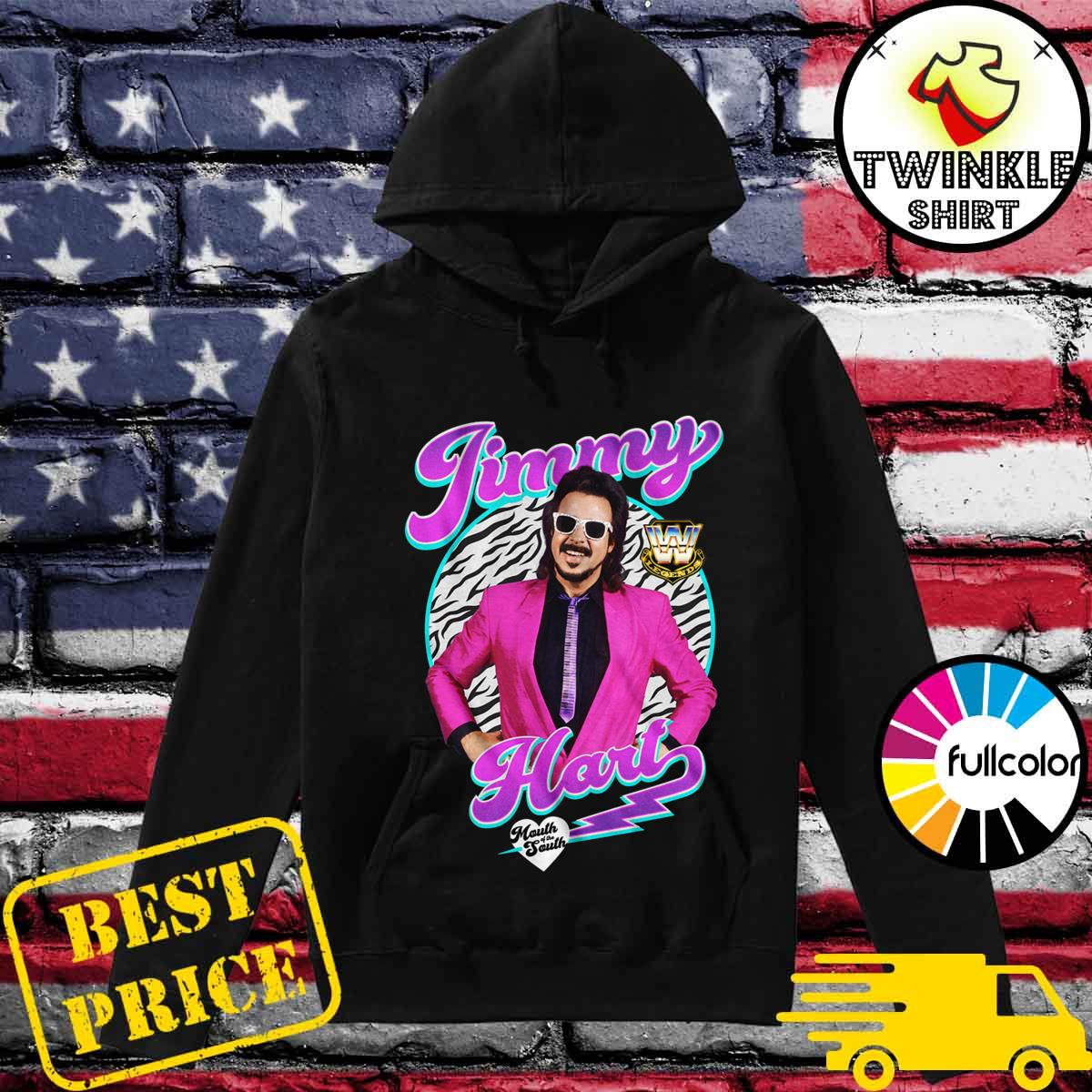 Official WWE Legend Jimmy Hart Mouth Of The South Shirt Hoodie
