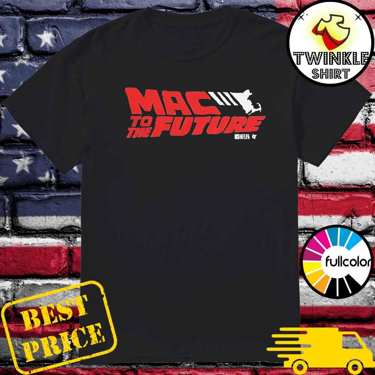 Mac to the Future Mac Jones Football T-shirt