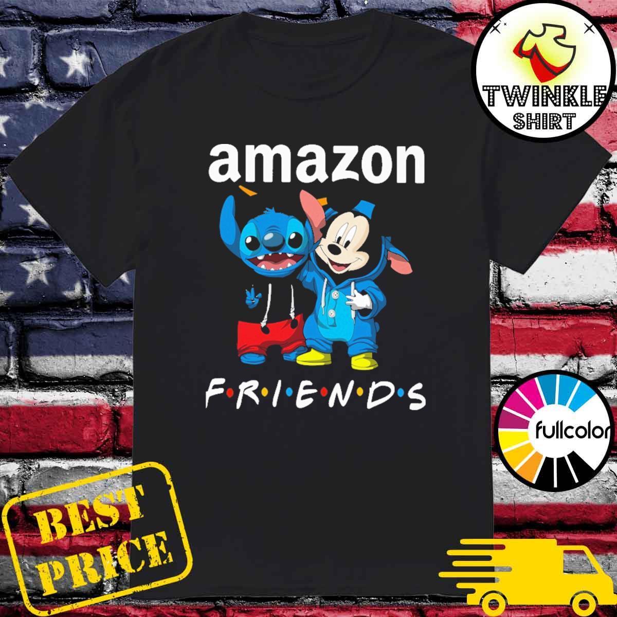 Amazon Stitch and Mickey Mouse Friends shirt