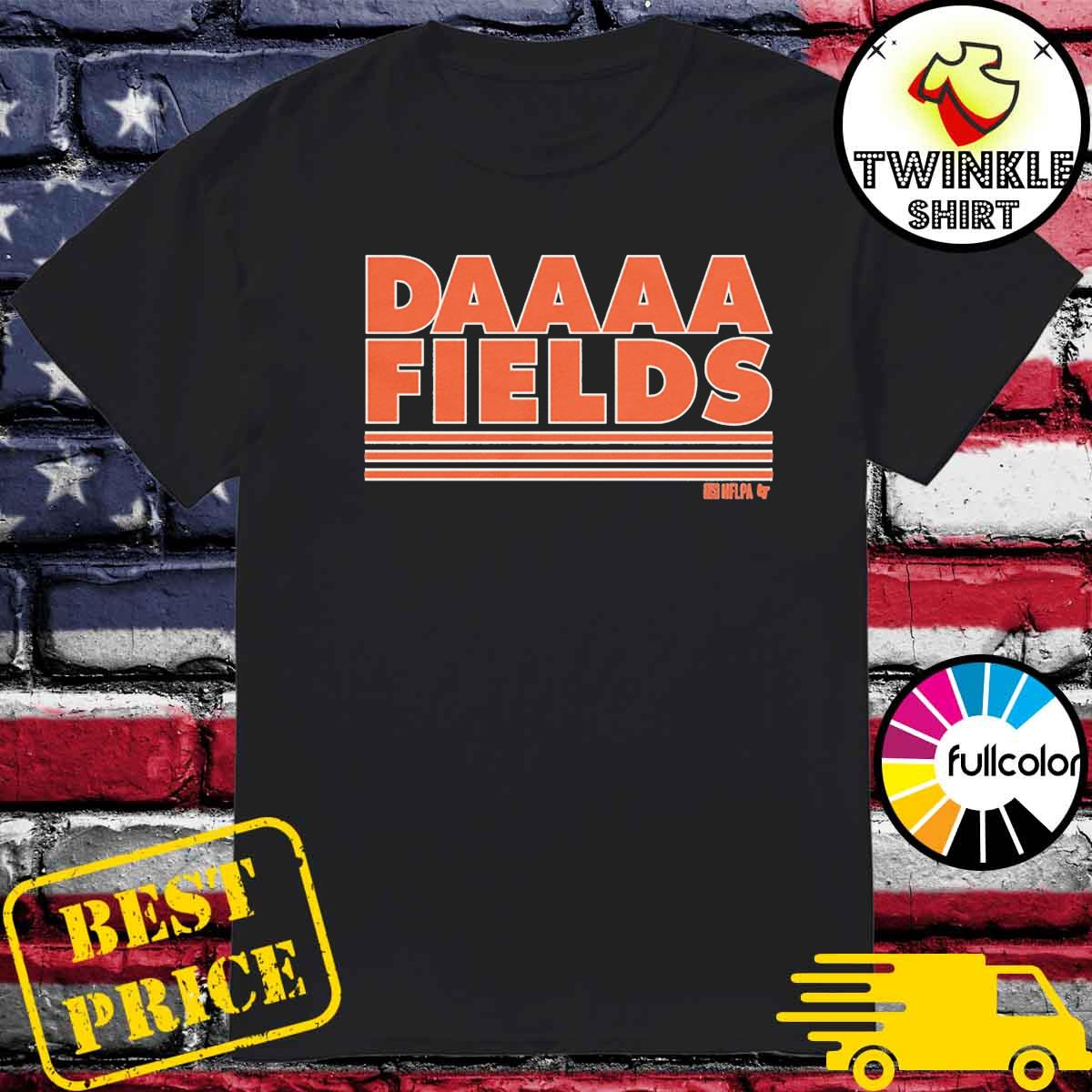 Justin Fields – Nflpa Licens Daaaa Fields Shirt