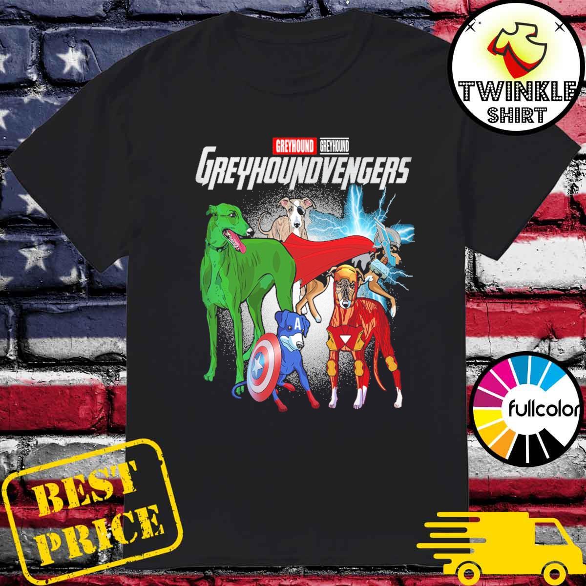 Official Marvel Greyhound Greuhoundvengers Shirt