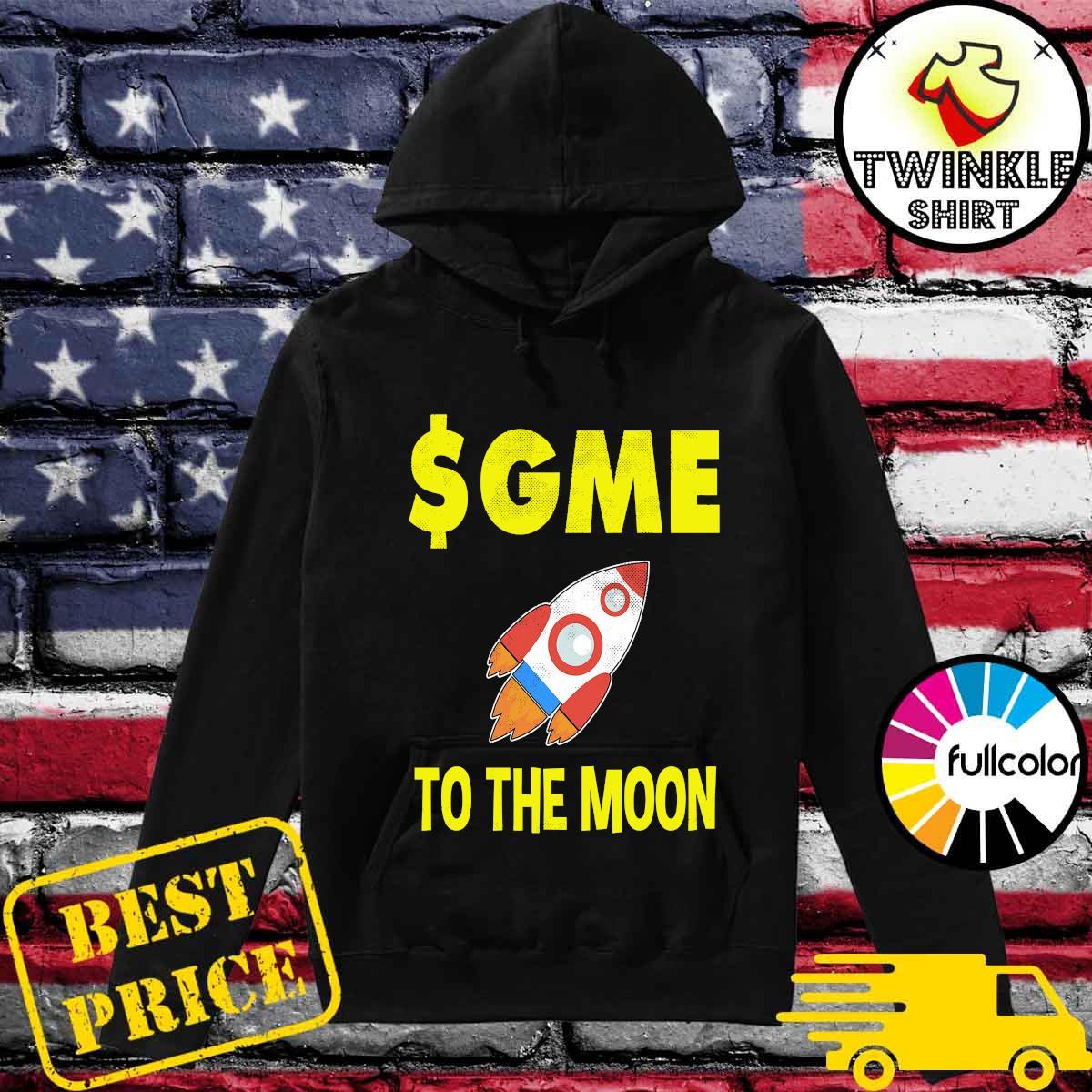 $GME To The Moon Ff GameStonk Shirt Hoodie
